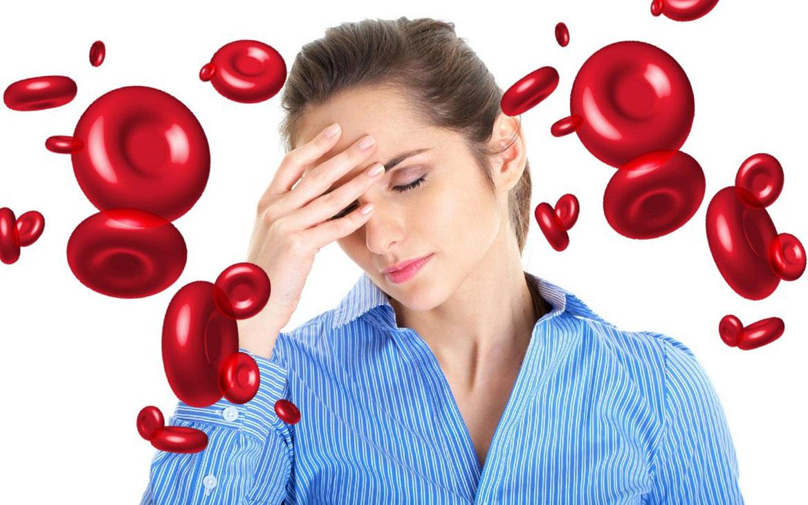 Заболевания крови Анемия. Виды, симптомы, диагностика, лечение