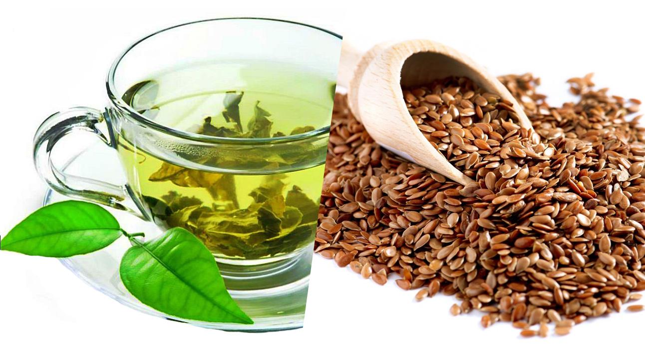 Борьба с раком естественным путем. Зеленый чай и семена льна